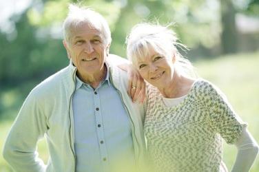 pareja abuelos